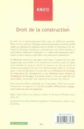Droit de la constitution - Couverture - Format classique