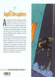 Les aigles décapitées T.13 ; la princesse Mordrie - 4ème de couverture - Format classique