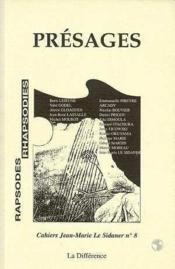 Presages N 8 Cahiers Le Sidaner - Couverture - Format classique