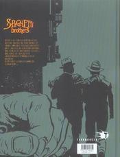 Spaghetti brothers t.12 - 4ème de couverture - Format classique
