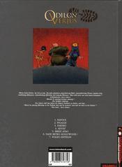 Odilon verjus ; adolf - 4ème de couverture - Format classique