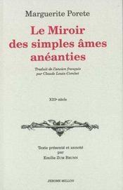 Le miroir des simples ames aneanties - Intérieur - Format classique