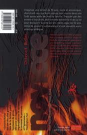 Novice - 4ème de couverture - Format classique