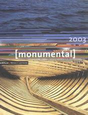 MONUMENTAL ; dossier patrimoine maritime (édition 2003) - Intérieur - Format classique