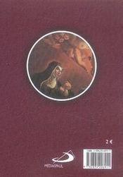 Sainte rita de cascia - 4ème de couverture - Format classique