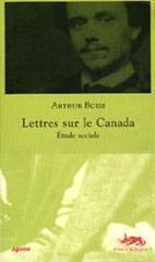 Lettres sur le canada,etude sociale - Couverture - Format classique
