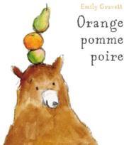 Orange pomme poire - Couverture - Format classique