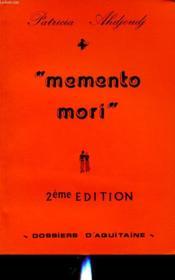 Memento Mori - Couverture - Format classique