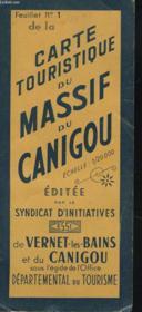 Feuillet N)1 De La Carte Touristique Du Massif Du Canigou - Couverture - Format classique