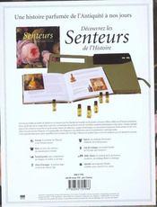 Senteurs ; Une Histoire Parfumee De L'Antiquite A Nos Jours - 4ème de couverture - Format classique