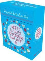 Ma petite boite bien-être ; adoptez la sagesse ho'oponopono dans votre vie - Couverture - Format classique