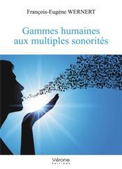 Gammes humaines aux multiples sonorités - Couverture - Format classique