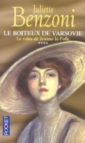 Le Boiteux De Varsovie T.4 ; Le Rubis De Jeanne La Folle - Couverture - Format classique