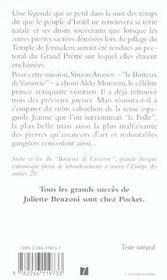 Le Boiteux De Varsovie T.4 ; Le Rubis De Jeanne La Folle - 4ème de couverture - Format classique