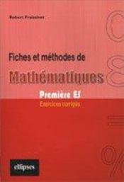 FICHES et methodes - Intérieur - Format classique
