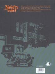 Spaghetti brothers - tome 13 - 4ème de couverture - Format classique