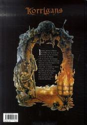 Korrigans t.4 ; le seigneur du chaos - 4ème de couverture - Format classique