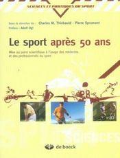 Le sport après 50 ans - Intérieur - Format classique