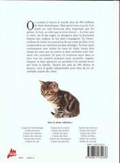 Le copain des chats - 4ème de couverture - Format classique