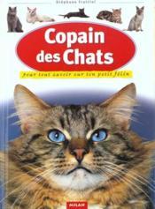 Le copain des chats - Couverture - Format classique