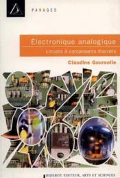 Electronique Analogie, Circuits A Composants Discrets - Couverture - Format classique