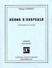 Heros s'abstenir - Couverture - Format classique