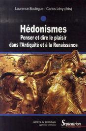 Hédonismes - Intérieur - Format classique