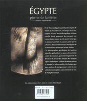 Egypte, haute et moyenne egypte - 4ème de couverture - Format classique