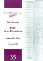 Revue Connaitre La Bible N.35 ; Paul Et Les Corinthiens T.1 - Couverture - Format classique
