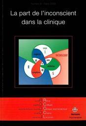 Revue des collèges cliniques du champ lacanien - Couverture - Format classique