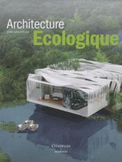 Architecture écologique - Couverture - Format classique