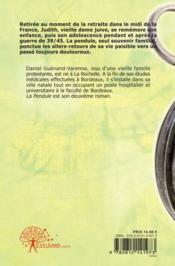 La pendule - 4ème de couverture - Format classique