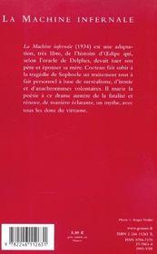 La machine infernale - 4ème de couverture - Format classique