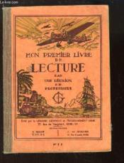Mon Premier Livre de Lecture, faisant suite au syllabaire N°5 - E - Couverture - Format classique