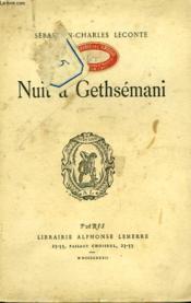 Nuit A Gethsemani - Couverture - Format classique