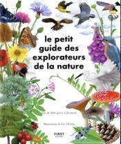 Le petit guide des explorateurs de la nature - Couverture - Format classique
