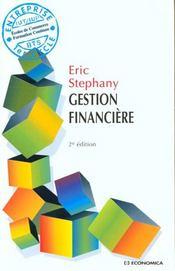 Gestion Financiere ; 2e Edition - Intérieur - Format classique