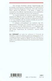 Gestion Financiere ; 2e Edition - 4ème de couverture - Format classique