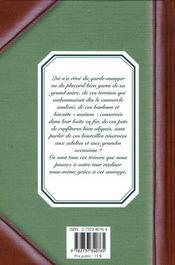 Dans les placards de nos grand-mères : 140 recettes - 4ème de couverture - Format classique
