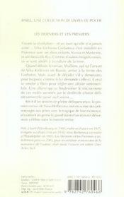 Les derniers et les premiers babel 739 - 4ème de couverture - Format classique