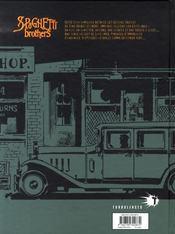 Spaghetti brothers t.14 - 4ème de couverture - Format classique