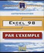 Excel 98 sur mac (par l'exemple) - Couverture - Format classique