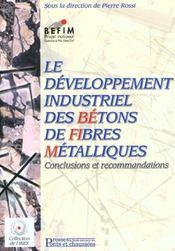 Le developpement industriel des betons de fibres metalliques - Intérieur - Format classique