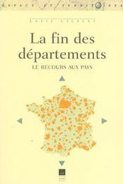 Fin des departements - Intérieur - Format classique