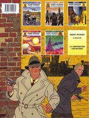 Harry Dickson T.3 ; les 3 cercles de l'épouvante - 4ème de couverture - Format classique
