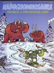 Nab T.7 ; Panique A Diplodocus-Land - Intérieur - Format classique