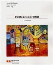 Psychologie de l'enfant (2e édition) - Couverture - Format classique