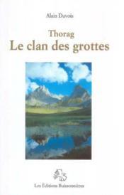 Thorac et le clan des grottes - Couverture - Format classique
