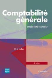 Comptabilite generale et specificites agricoles avec cdrom 2 edition - Couverture - Format classique