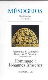 Mesogeios T.13-14 ; Hommage A Johannes Irmscher - Intérieur - Format classique